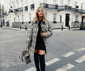 fashion, jacket, and street style image