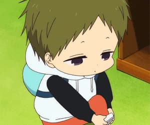 anime, baby, and gif image
