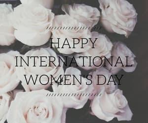 roses, celebration, and international women day image
