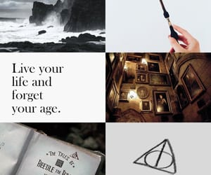 aesthetic, hp, and wizard image