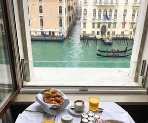 italy, travel, and breakfast image