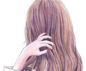 art, hair, and anime image
