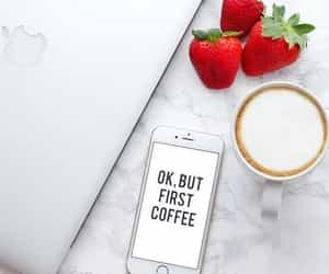 apple, coffee, and text image