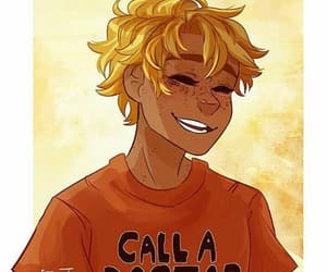 will, percy jackson, and solace image
