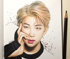 rm, bts, and fan art image