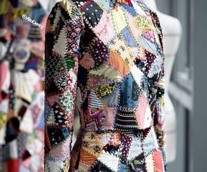 dior, patchwork, and 2018-2019 image