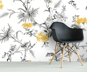 flowers, interior, and design image