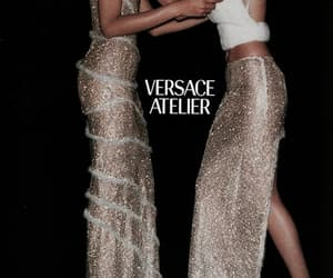girls and Versace image
