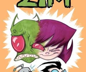comics, Invader Zim, and otp image