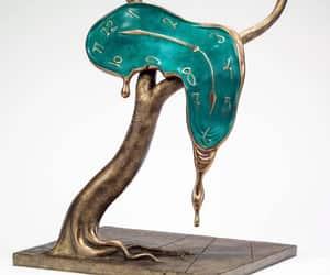 art, gold, and salvador dali image