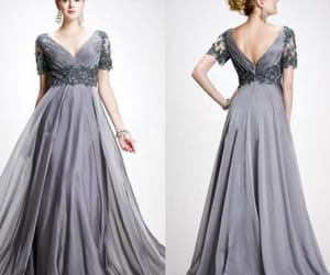 evening dress, prom dress, and mother of the bride dress image