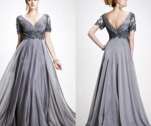 evening dress, wedding guest dress, and prom dress image