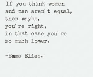 equality, feminist, and quotes image