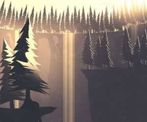 art, design, and forest image