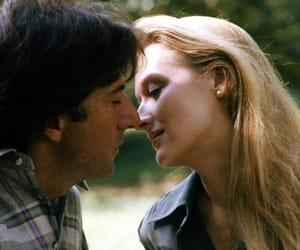 dustin hoffman, meryl streep, and kiss image