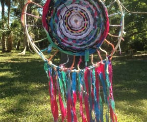 art, hippie, and weaving image
