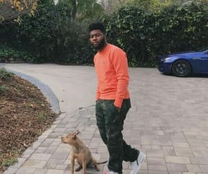 dogs and khalid image