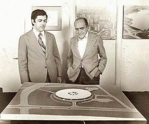 maquete, model, and niemeyer image