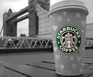 starbucks, london, and coffee image