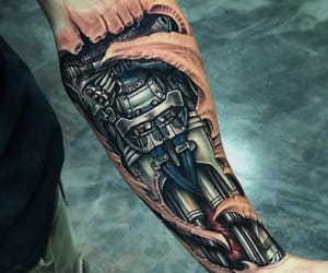 arm, robot, and awesome image