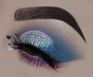 art, make-up, and beautyful image