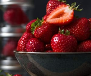 food, FRUiTS, and red image