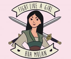 mulan, disney, and feminism image