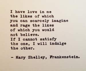 Frankenstein and mary shelley image
