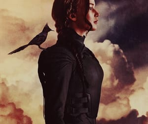 katniss everdeen, the hunger games, and Jennifer Lawrence image