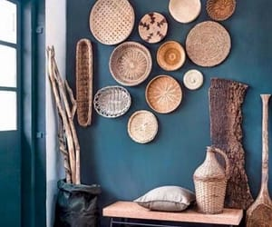 interior decorating, interior design, and foyer image