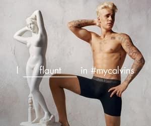 boy, sexy, and Calvin Klein image