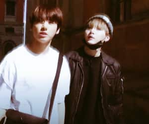 bts, yoongi, and yoonkook image