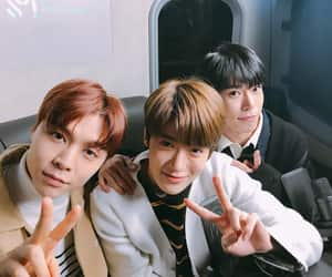 doyoung, nct, and johnny image