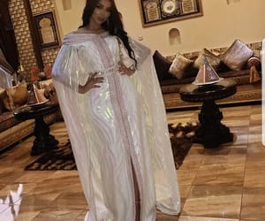 caftan, arabic, and beauty image