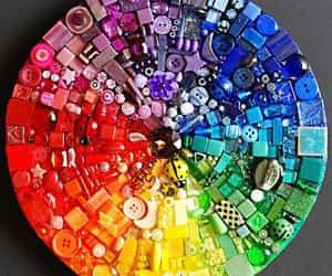 arcoiris, belleza, and multicolor image