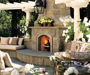 garden, outdoor living, and patio image