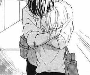 love, manga, and hug image