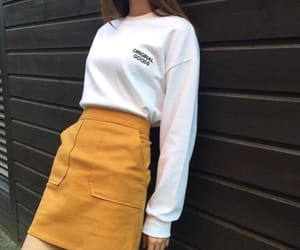 outfit, girl, and korean image