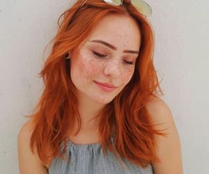 style, fashion, and freckles image