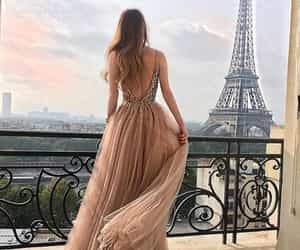fashion, paris, and dress image