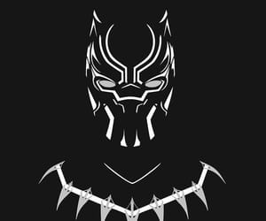 wallpaper, black panther, and Marvel image