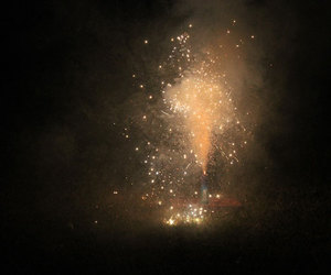 colors, night, and fireworks image