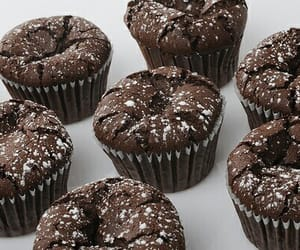 chocolate, muffins, and pure image