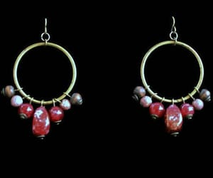 etsy, hippie earrings, and hippie jewelry image