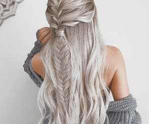hair, goals, and hairstyle image