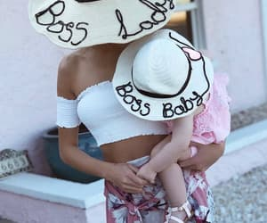 baby, beach, and boss image