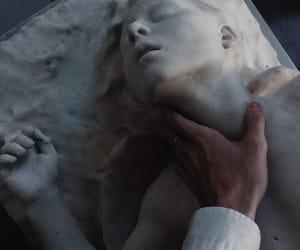 art, statue, and grunge image