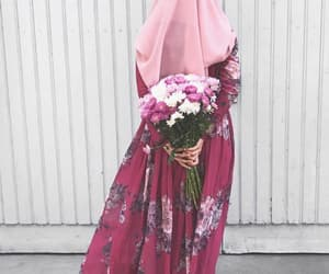 classy, dress, and flower image