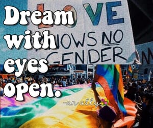 bisexual, trans, and love is love image