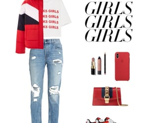 girls, outfit, and Polyvore image